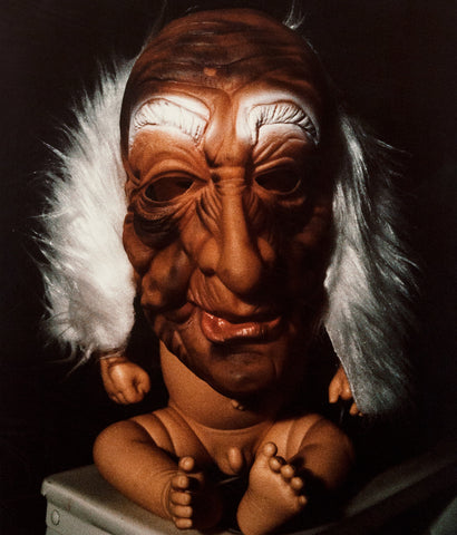 "CINDY SHERMAN ""MASK OVER BABY DOLL"" PHOTOGRAPH, 1987-92"
