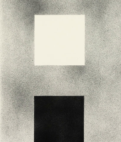 "CLAUDE TOUSIGNANT ""BLACK WHITE SQUARES"" DRAWING, 1999"