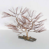 "CURTIS JERE STYLE ""BONSAI"" SCULPTURE"