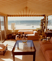 "DAVID HOCKNEY ""MALIBU INTERIOR"" PHOTO, 1974"