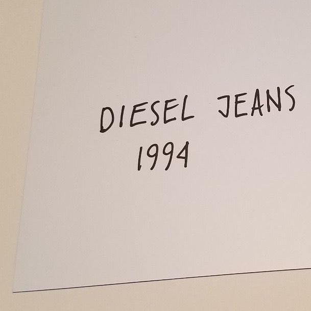 "DAVID LACHAPELLE ""DIESEL JEANS"" 1994"