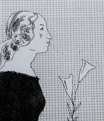 "DAVID HOCKNEY ""THE OLDER RAPUNZEL"" ETCHING, 1969"