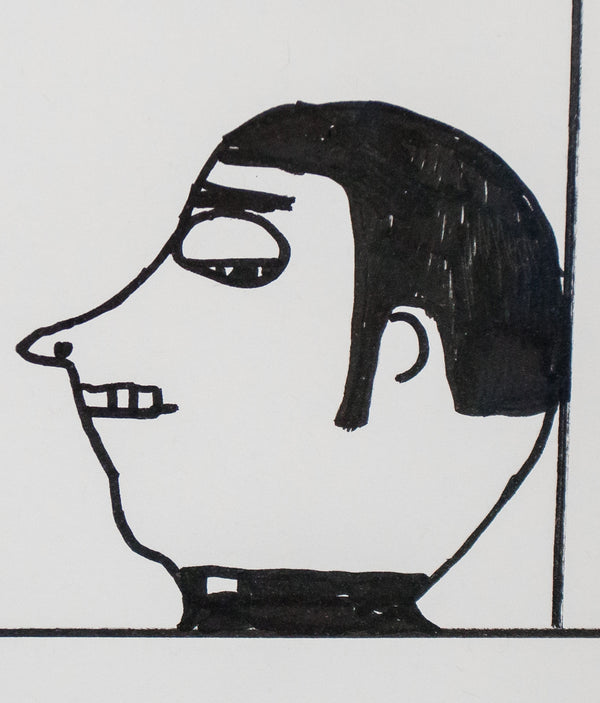 "DAVID SHRIGLEY ""PRIEST DRAWING"" 2006"
