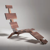 "DON HOWELL ""RIVER CHAISE"" WALNUT,  2013"