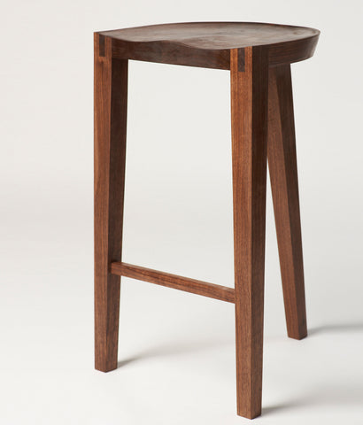 "DON HOWELL ""SADDLE"" STOOL, 2014"