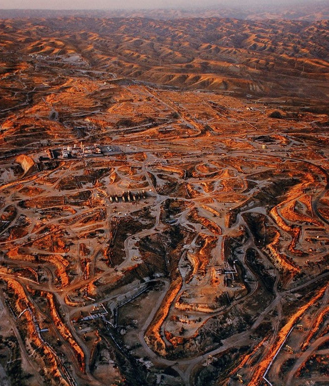 "EDWARD BURTYNSKY ""OIL FIELDS #27, TEXAS"" 2004"