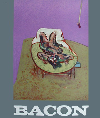 FRANCIS BACON EXHIBITION POSTER