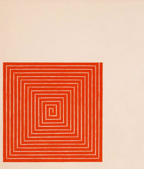 "FRANK STELLA ""NEW MADRID"" LITHOGRAPH, 1971"
