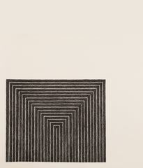 "FRANK STELLA ""GETTY TOMB"" LITHOGRAPH, 1967"