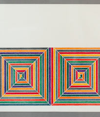 "FRANK STELLA ""LES INDES GALANTES"" LITHOGRAPH, 1973"