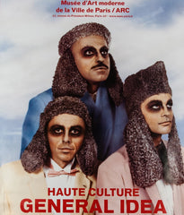 "GENERAL IDEA ""HAUTE CULTURE - PARIS"" GIANT POSTER, 2011"