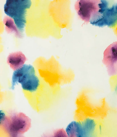 "GERSHON ISKOWITZ ""LEMON MIST"" WATERCOLOR, 1977"