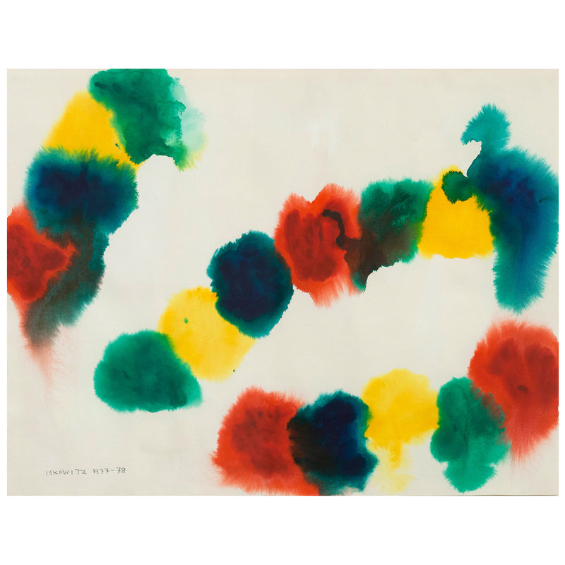 Gershon Iskowitz watercolor Caviar20