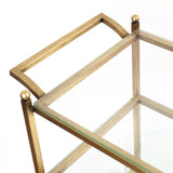 "CRISTINA PEPE ""GOLD LEAF BAR CART"""