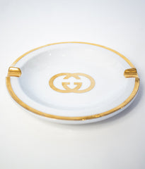 "GUCCI ""PORCELAIN ASHTRAY"""