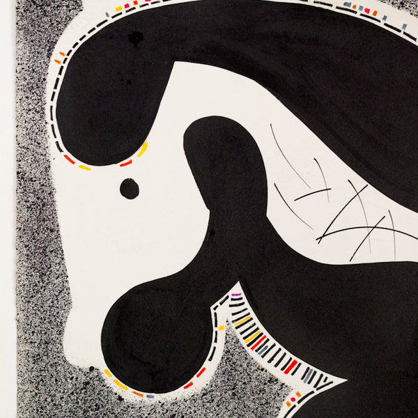 "HAROLD TOWN ""TOY HORSE #11"" DRAWING, 1978"