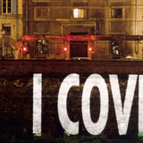 "JENNY HOLZER ""I COVER YOU"" PHOTO, 1996"