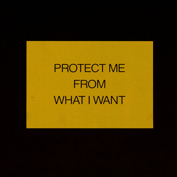 "JENNY HOLZER ""PROTECTION BOX"", 1992"