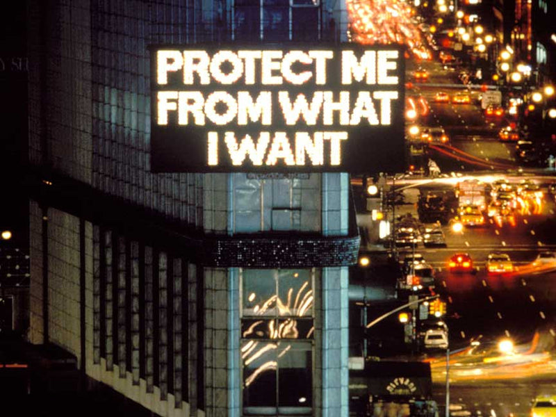 "JENNY HOLZER ""SELECTION FROM LIVING"""