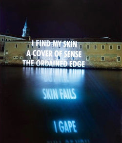 "JENNY HOLZER ""SKIN FAILS"" PHOTO, 2001"