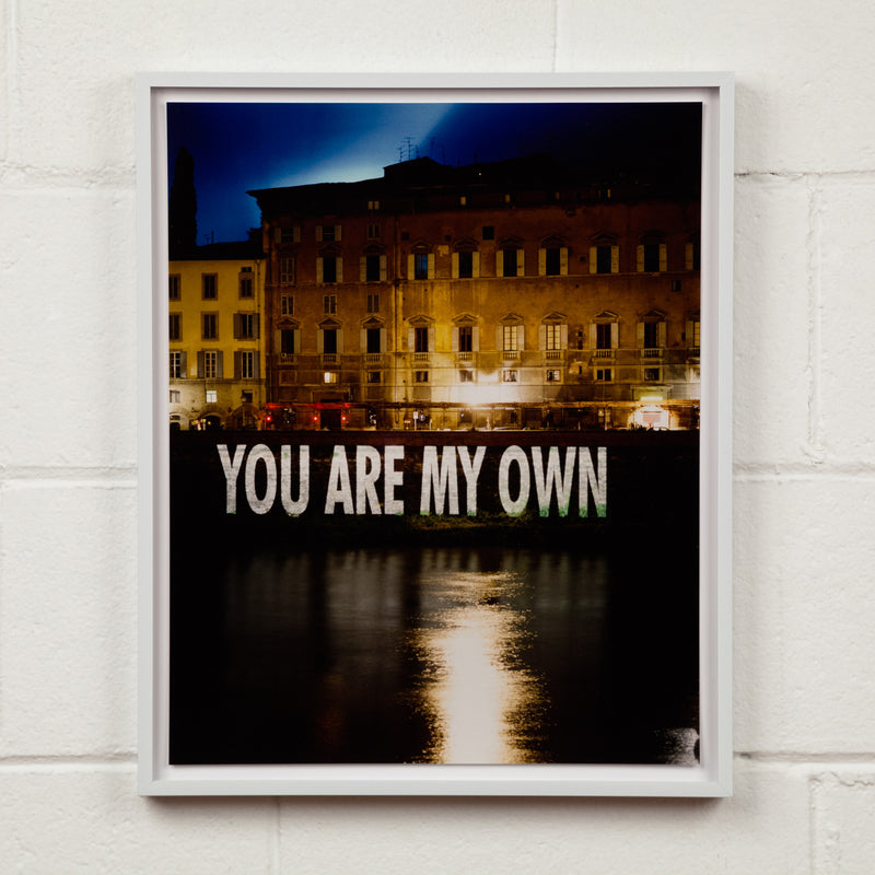 "JENNY HOLZER ""YOU ARE MY OWN"" PHOTO, 1999"