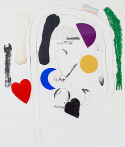 "JIM DINE ""MIDSUMMER WALL"" 1966"