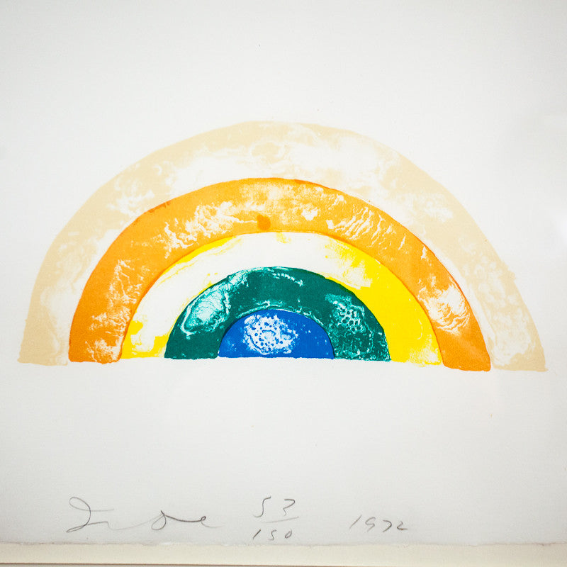 "JIM DINE ""RAINBOW"" 1972"