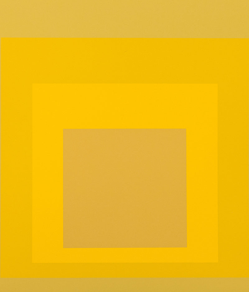 Caviar20 Homage to the Square Josef Albers Yellow