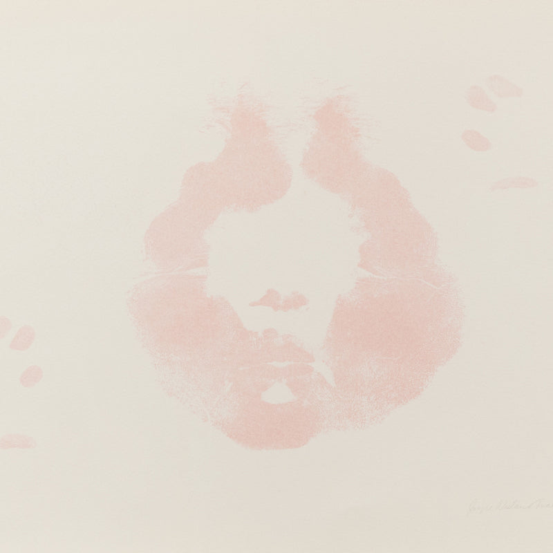 "JOYCE WIELAND ""LIPSTICK - FACING NORTH"" LITHO, 1973"