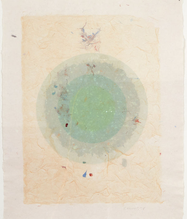 "KENNETH NOLAND ""CIRCLE I"", 1978"