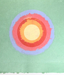 "KENNETH NOLAND ""CIRCLE II"", 1978"