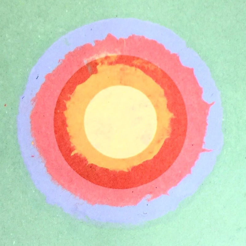 Kenneth Noland Circle II Series 1978 Monotype Caviar20