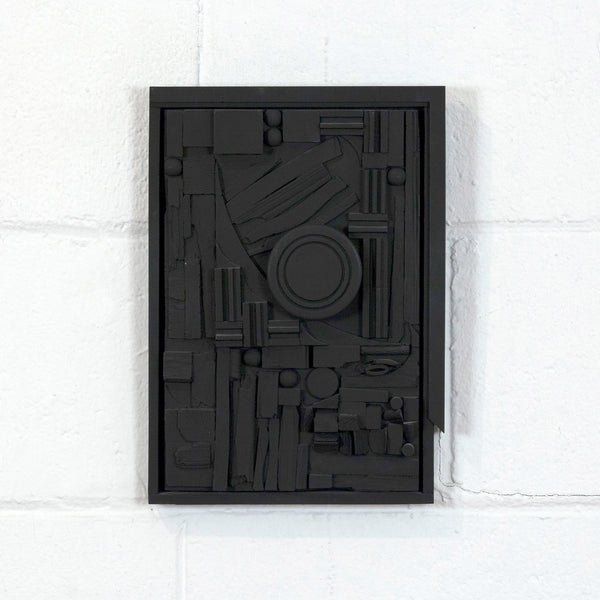 Louise Nevelson City-Sunscape sculpture wood 1979