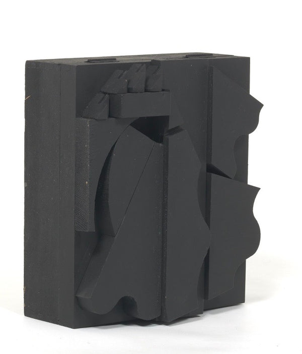 "LOUISE NEVELSON ""DARK CRYPTIC"", 1979"