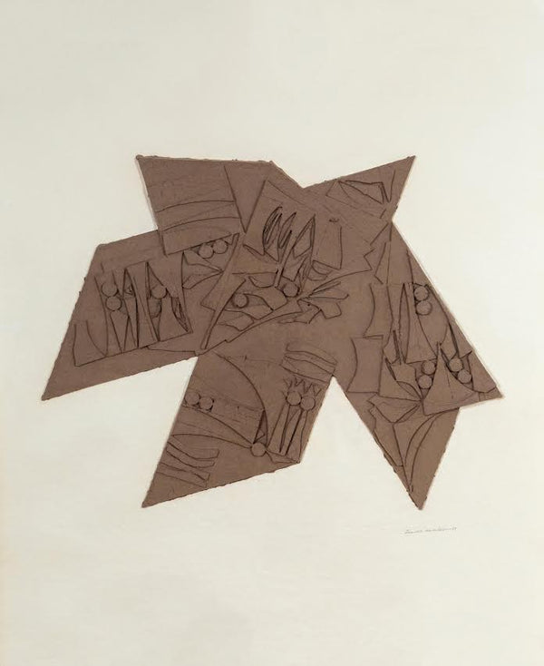 Louise Nevelson, Nightstar, Cast paper relief, 1980, Caviar20