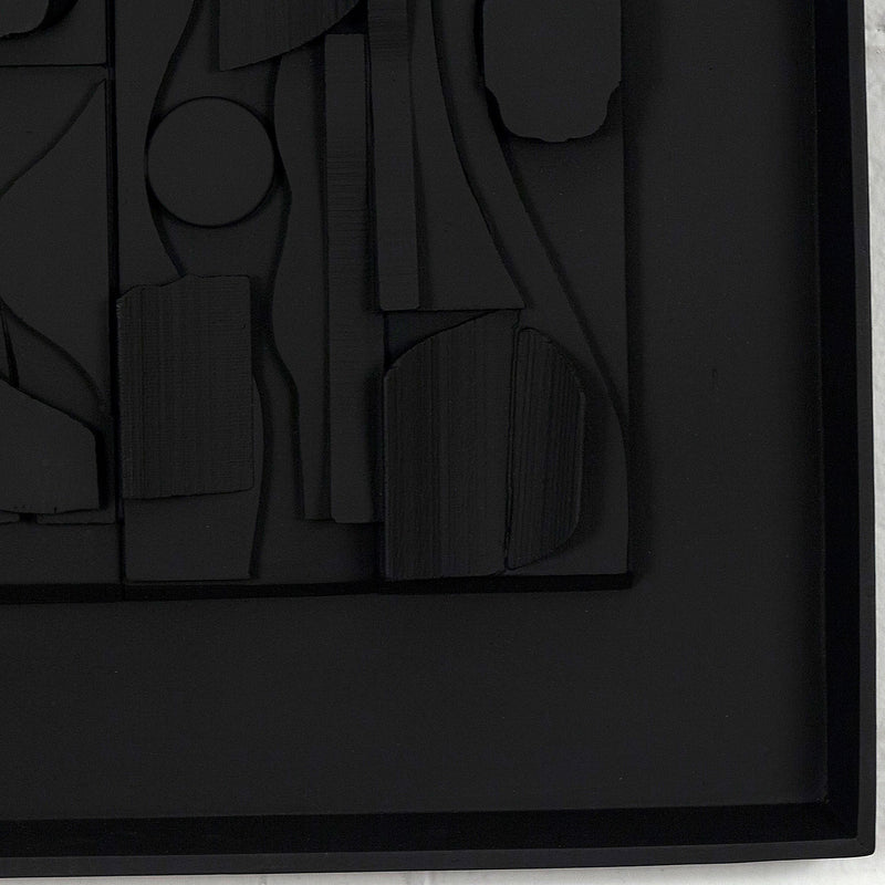 Louise Nevelson, Symphony Three, Relief Sculpture, 1974, Caviar 20