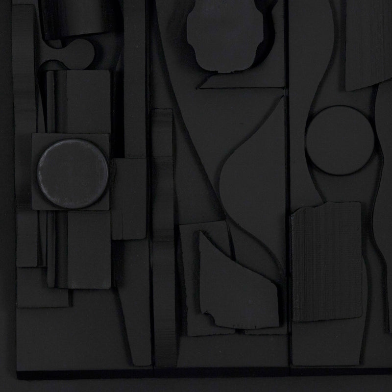 "LOUISE NEVELSON ""SYMPHONY THREE"", 1974"