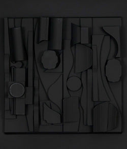 Louise Nevelson resin sculptures Caviar20 Symphony Three
