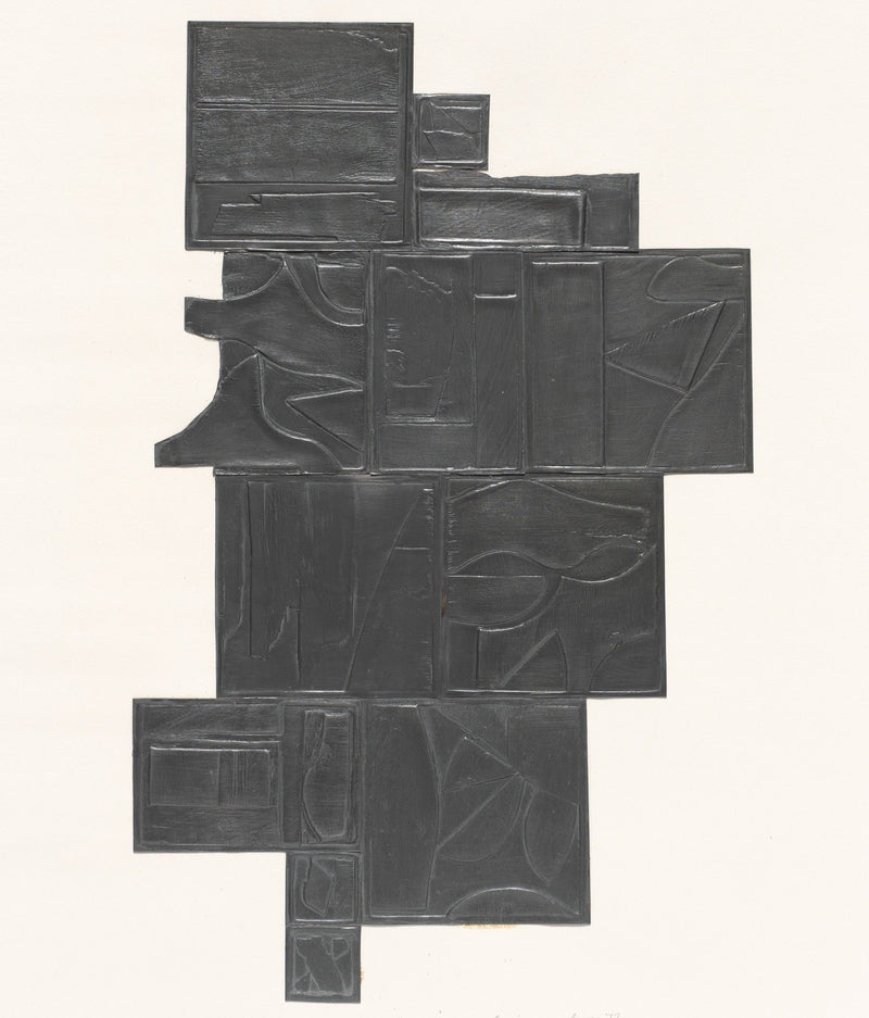 Louise Nevelson Tropical Leaves lead Caviar20
