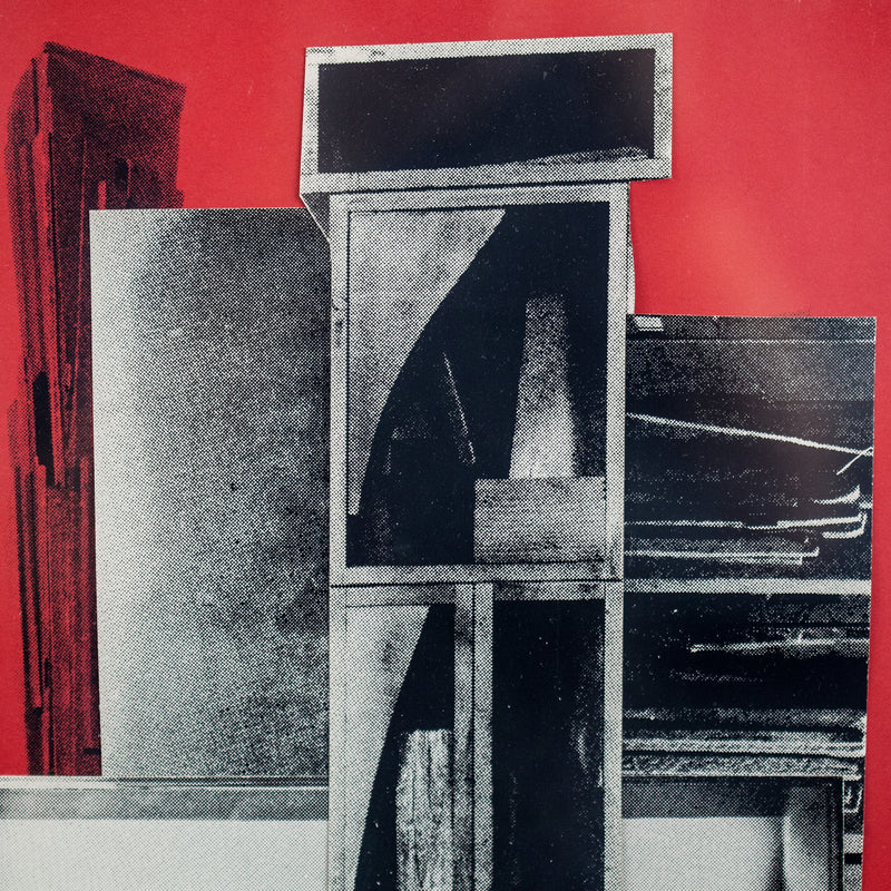 "LOUISE NEVELSON ""THE DRUM"" LITHO/COLLAGE, 1966"
