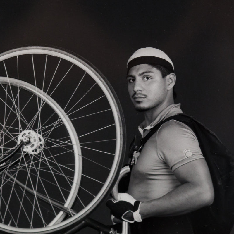 "ROBERT MAPPLETHORPE ""BIKE COURIERS"" 1985"