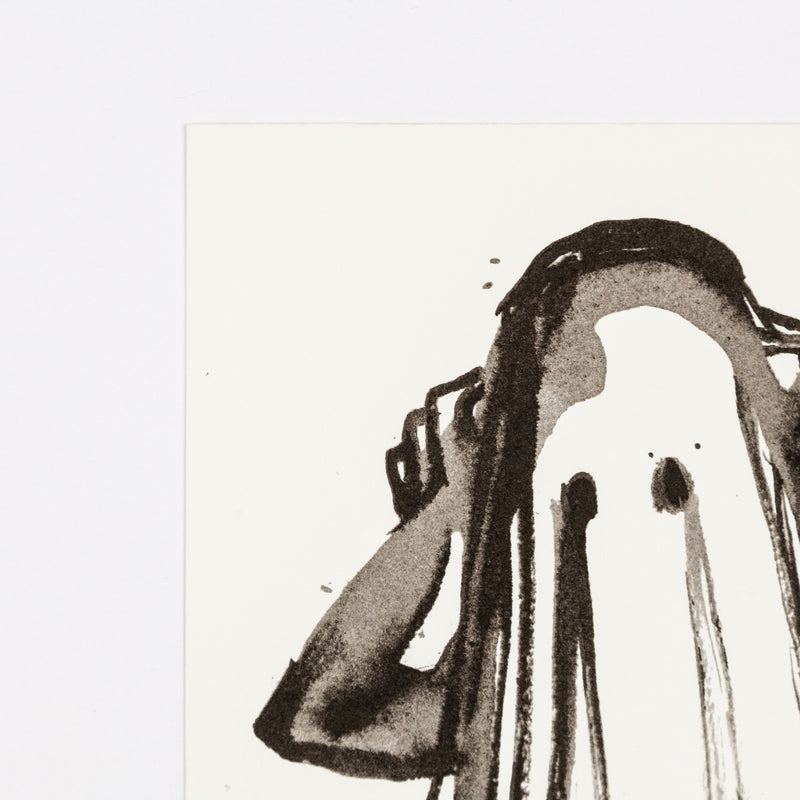 "MARLENE DUMAS ""FACELESS"" SILKSCREEN, 1993"