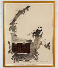 "ROBERT MOTHERWELL ""TOBACCO ROTH"" LITHO, 1975"