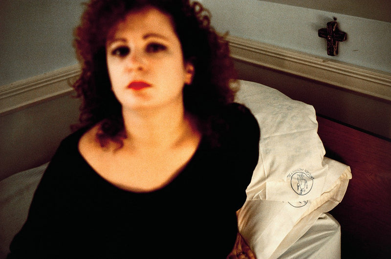 "NAN GOLDIN ""SELF PORTRAIT IN THE LODGE"", 1988"