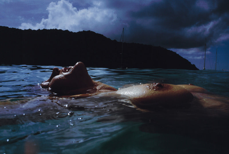 Caviar20 Nan Goldin Valerie Floating photograph