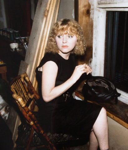 "NAN GOLDIN ""APRIL IN THE WINDOW"" 1988"