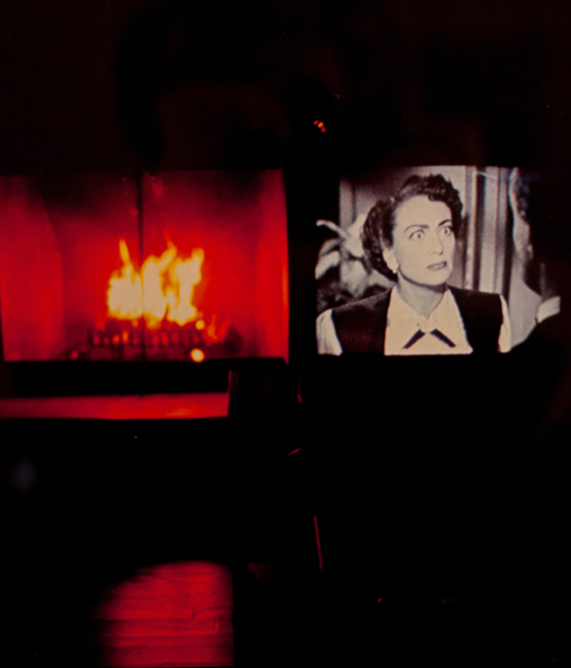 "NAN GOLDIN ""JOAN CRAWFORD ON FIRE"" 2005"