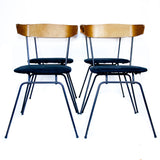 "SET OF 4 MAPLE ""PASCOE"" CHAIRS"