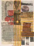 "ROBERT RAUSCHENBERG ""ONE MORE / HALFWAY THERE"" SCREENPRINT, 1979"