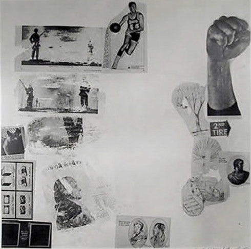 "ROBERT RAUSCHENBERG ""CURRENTS"" SILKSCREEN, 1970"